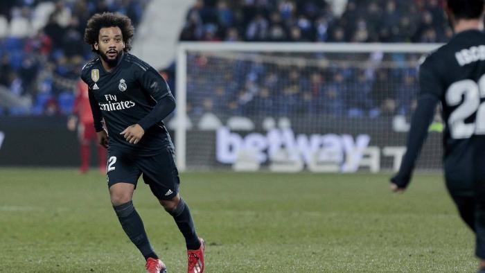 Real Madrid sortiert Marcelo aus, weil er zu viel wiegt
