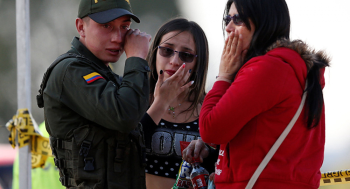 Asciende el número de muertos por el atentado en Bogotá