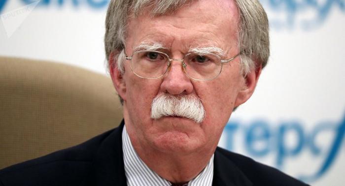 Bolton reafirma rechazo de EEUU a nuevo mandato del presidente de Venezuela