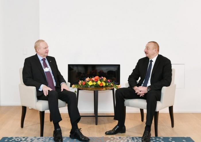 Azerbaijani president meets BP CEO- URGENT