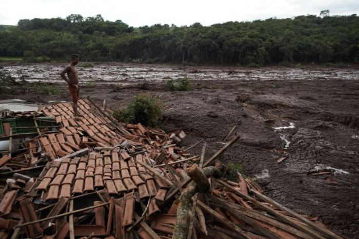Death toll in mine company dam collapse in Southeastern Brazil rises to 58