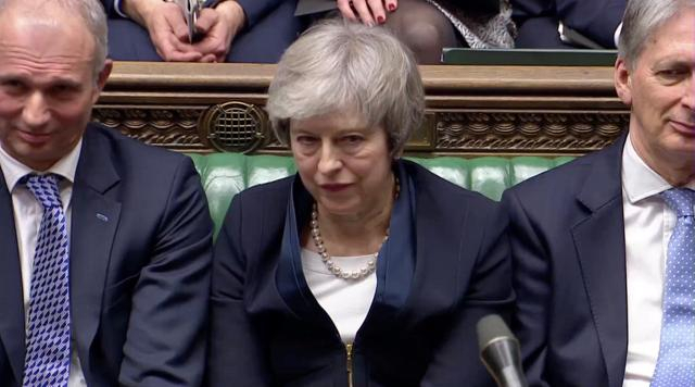Brexit bedlam: May