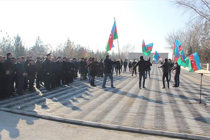 Laçınlı çağırışçılar hərbi xidmətə yola salındılar - Fotolar