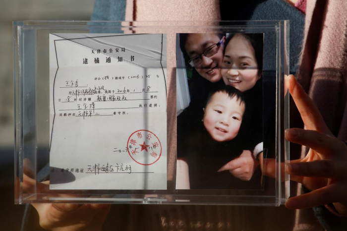 China jailing of rights lawyer a