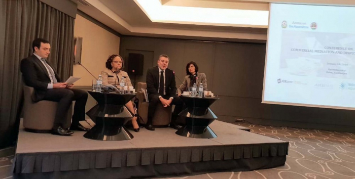 Baku hosts conference on Commercial Mediation and Dispute System Design