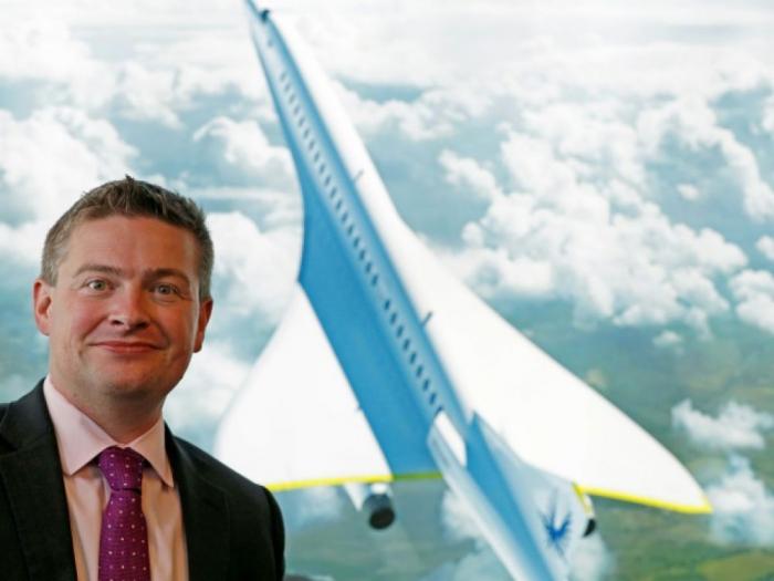 Une startup lève 100 millions de dollars pour construire son avion supersonique
