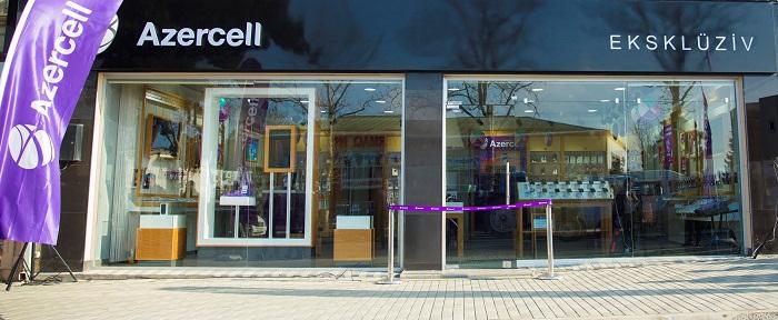 Azercell-in eksklüziv mağazası Zaqatalada açıldı