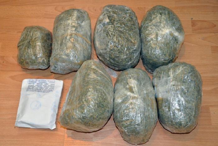 Dörd gündə 70 kiloqram narkotik aşkar edilib