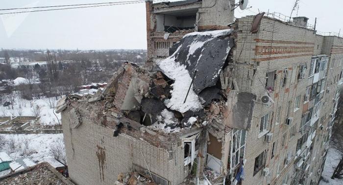 Asciende a cinco la cifra de muertos por derrumbe de edificio en la ciudad rusa de Shajti