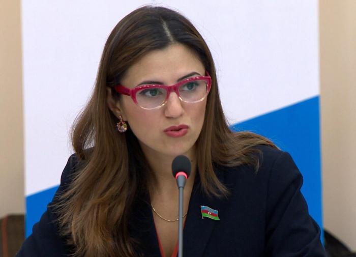La diputada azerbaiyana en la PACE   :  El porvenir de Armenia depende del arreglo del conflicto de Nagorno Karabaj