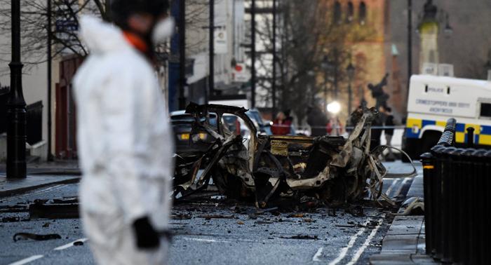 Detenidos otros dos presuntos implicados en explosión en Derry-Londonderry