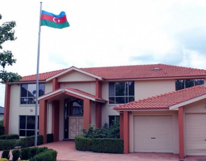 El bulto sospechoso enviado a la Embajada de Azerbaiyán en Australia fue entregado a la policía