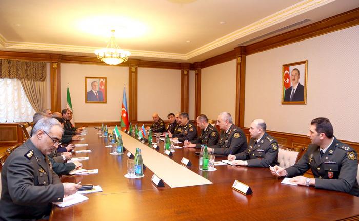 Azərbaycanla İran hərbi əməkdaşlığı genişləndirir