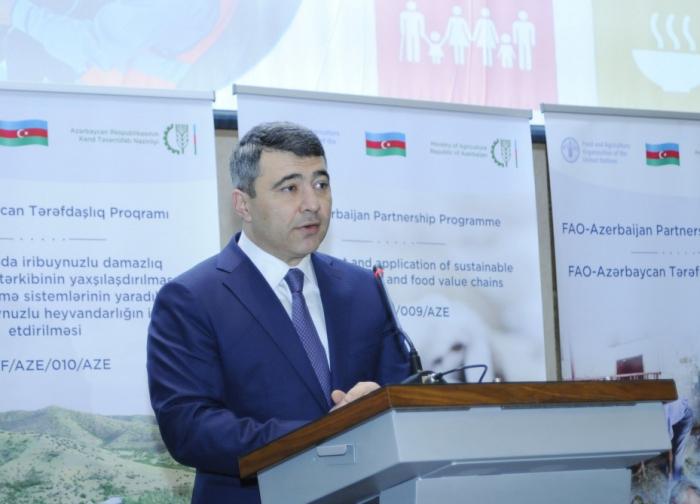 Launch ceremony of FAO-Azerbaijan Partnership Programme held in Baku