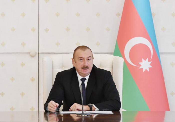 """الهام علييف:  """"الشعب الاذربيجاني لن يتصالح الإحتلال"""""""