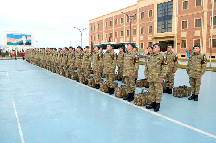 قواتنا في حفظ السلام في أفغانستان تعود الى اذربيجان-  صور