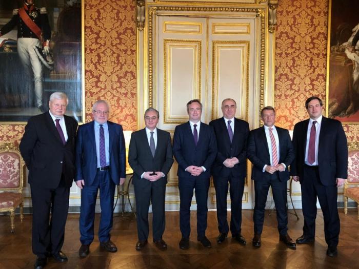 Copresidentes emitieronuna declaración respecto a la reunión en París