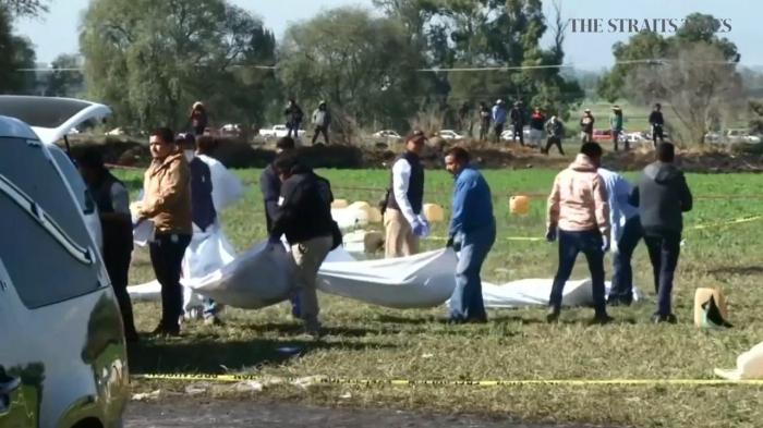Meksikadakı partlayışda ölü sayı 120-yə çatıb
