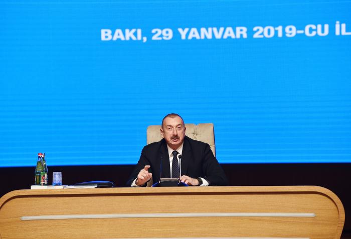 İlham Əliyevin iştirak etdiyi konfransdan FOTOLAR
