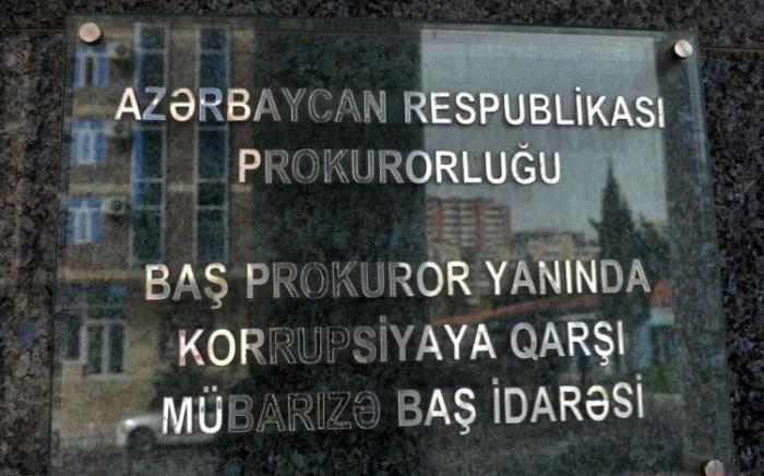 Dövlət başçısının tapşırığına uyğun olaraq, korrupsiya ilə mübarizə gücləndirilib