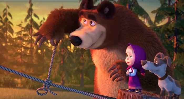 Un episodio de los dibujos animados