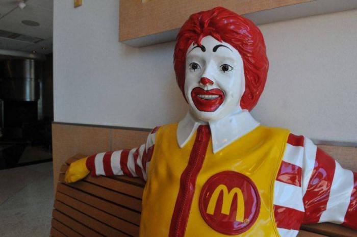En Israël, une oeuvre représentant le clown de McDonald