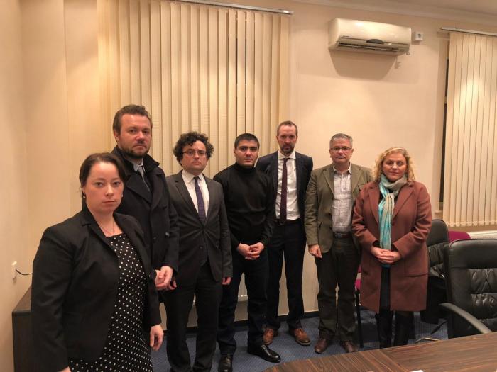 Xarici diplomatlar Mehman Hüseynovla görüşdü
