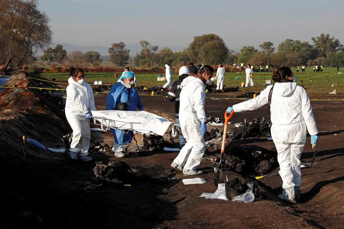 Meksikadakı partlayışda ölənlərin sayı artıb