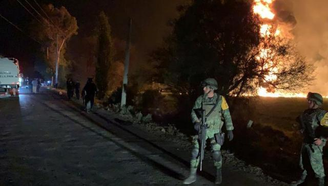 Death toll from Mexico pipeline blast rises to 96