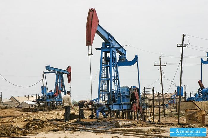 Ötən il 38,8 milyon tondan çox neft hasil edilib