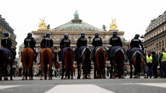 """باريس على موعد مع """"سبت تاسع"""" من تظاهرات السترات الصفراء"""