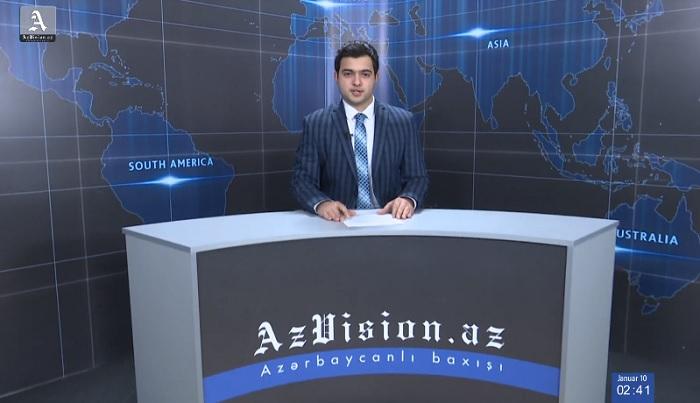 AzVision Nachrichten: Alman dilində günün əsas xəbərləri (10 yanvar) - VİDEO