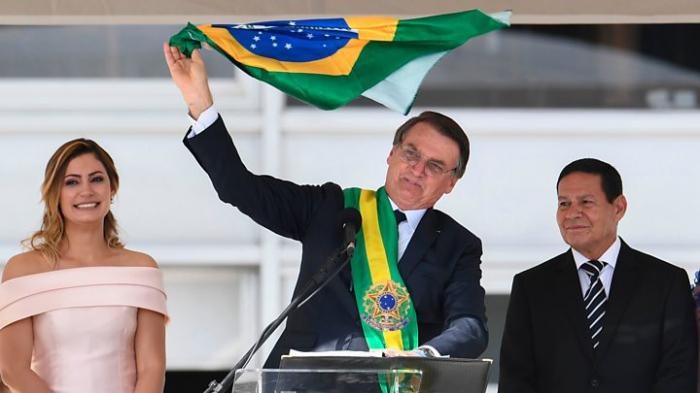 Bolsonaro takes office as Brazil