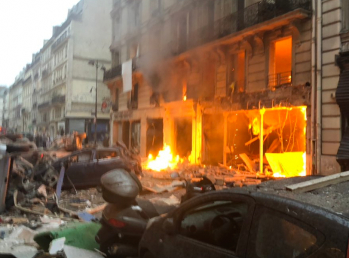 Fourth body recovered from under debris after blast at Paris bakery