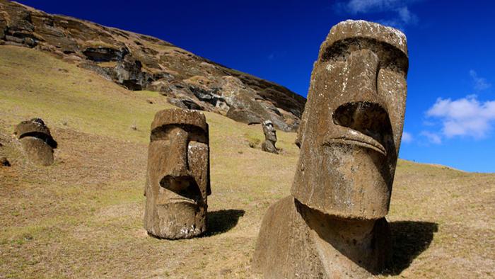 Isla de Pascua  : Científicos resuelven el misterio de la ubicación de los moáis