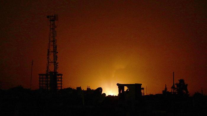 El Ejército de Israel publica un video de su ataque contra baterías de defensa aérea de Siria