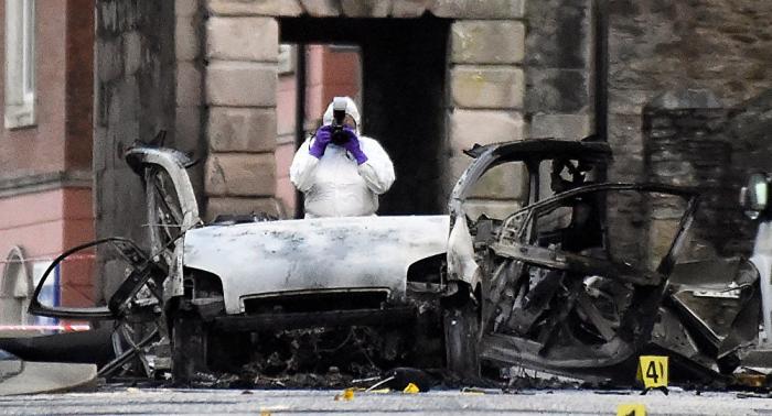Policía norirlandesa libera a cuatro detenidos tras la explosión en Derry-Londonderry