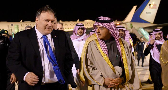 Pompeo analiza con el canciller saudí el caso Khashoggi y la crisis en Yemen