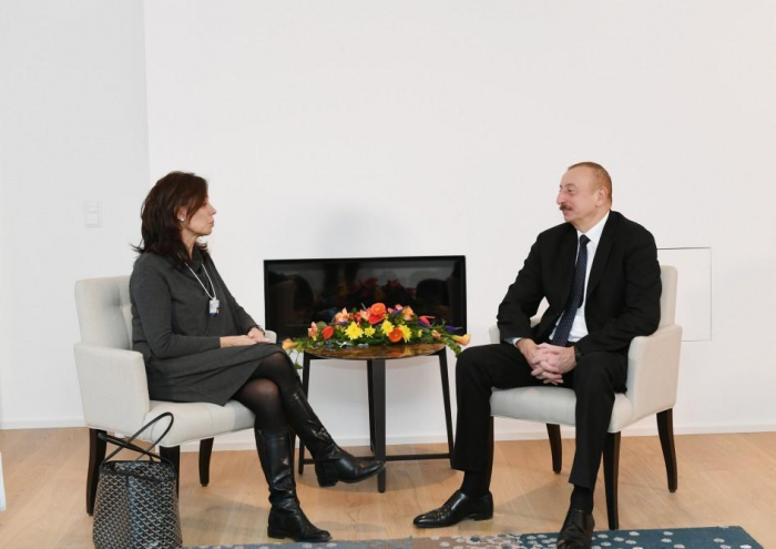 Azerbaijani president meets Cisco executive VP