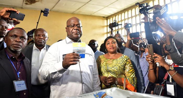 El opositor Félix Tshisekedi, proclamado ganador de las presidenciales en la RD Congo