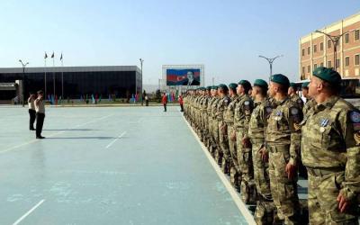 جنود حفظ السلام الأذربيجانيون سيسافرون هذا الشهر إلى جنوب السودان