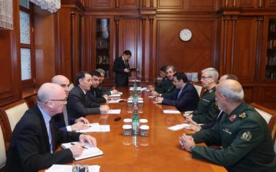 """محمد باقري:  """"احتلت أرمينيا أراضي أذربيجان التاريخية"""""""