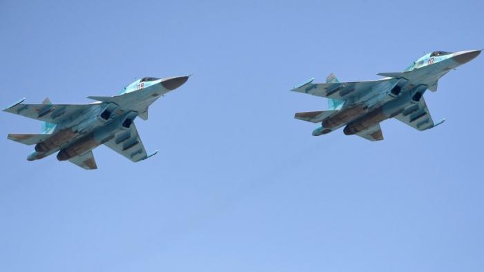 Dos aviones de combate Su-34 se accidentan en el este de Rusia