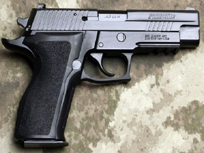 Qobustan qoruğundan silah-sursat tapılıb