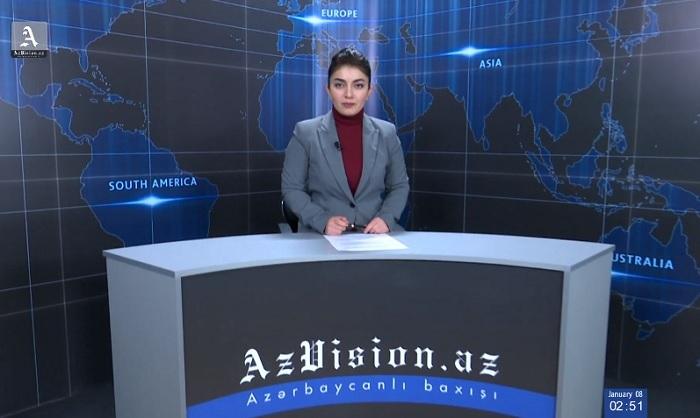 AzVision English: Résumé de la journée du 8 janvier -  VIDEO