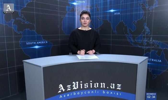 AzVision News: İngiliscə günün əsas xəbərləri (15 yanvar) - VİDEO