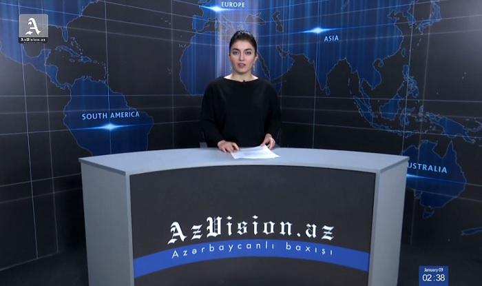 AzVision News: İngiliscə günün əsas xəbərləri (24 yanvar) - VİDEO