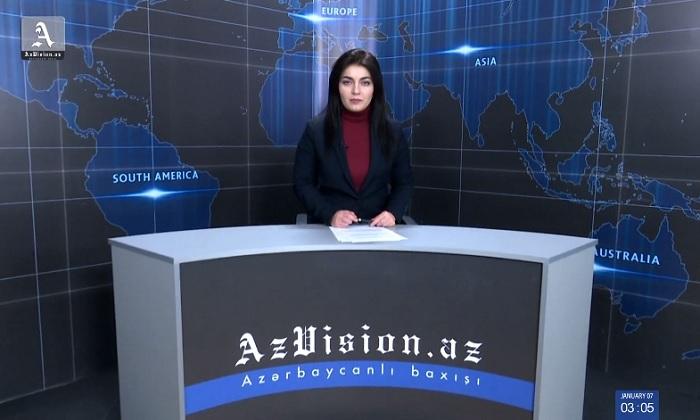 AzVision News: İngiliscə günün əsas xəbərləri (28 yanvar) - VİDEO