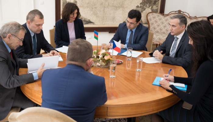 Senate President hails successful activities of Czech-Azerbaijani interparliamentary friendship groups