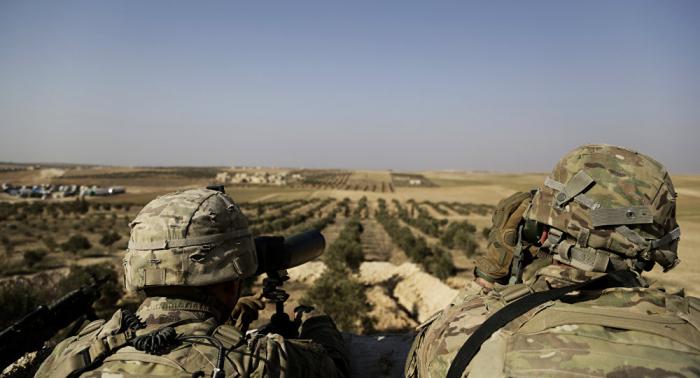 EEUU ya está retirando sus equipos militares terrestres de Siria